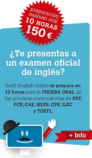 Preparación de exámenes orales de inglés