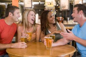 Practicar inglés en bares