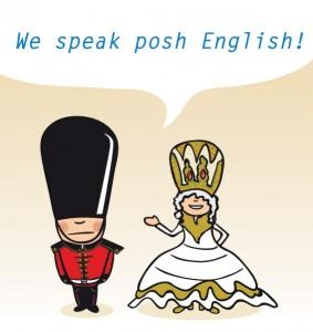 En las academias se suele enseñar inglés estándar o RP