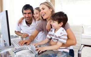 Un grupo online es una buena opción para aprender inglés en familia