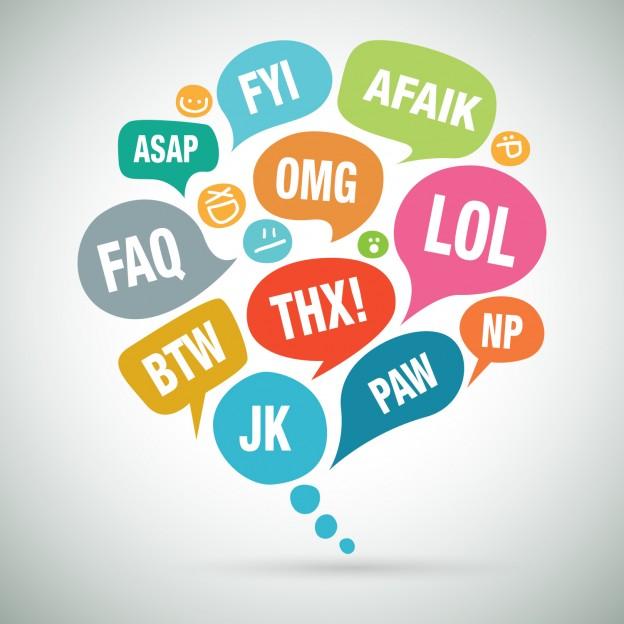 Abreviaturas útiles a modo de curso básico de inglés online