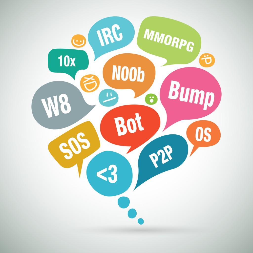 Acrónimos, abreviaturas y palabras técnicas del inglés online